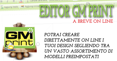 Editor on line - Disponibile a breve